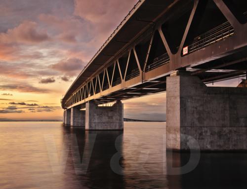 Fotografering Öresundsbron